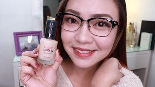 Etude House Double Lasting Foundation FIRST IMPRESSION Review!