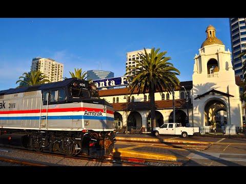 San Diego Santa Fe Depot - 100 Year Anniversary Special