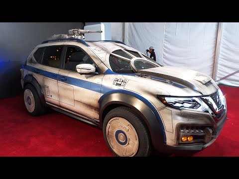 Millennium Falcon-themed Nissan Rogue vehicle unveiled at
