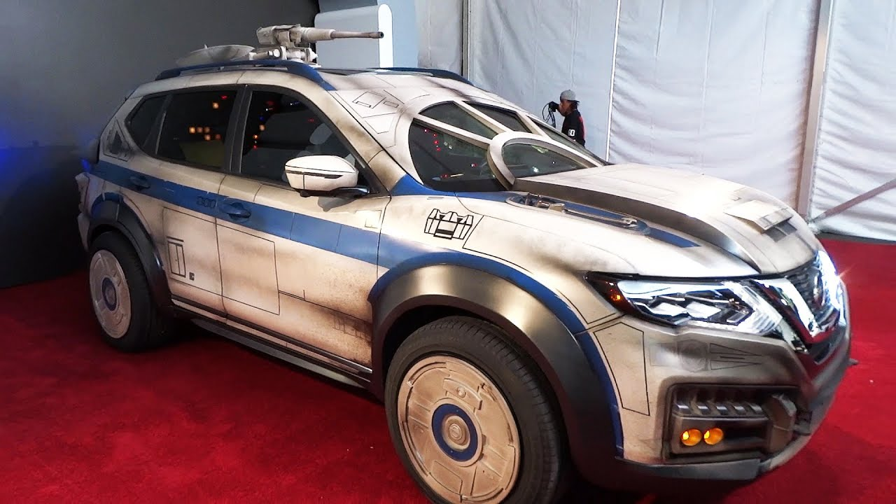 Millennium Falcon Themed Nissan Rogue Vehicle Unveiled At Solo A