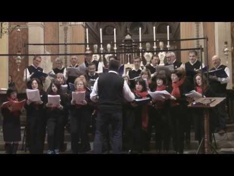 The sound of the round - Cantare insieme per il Natale - Chiesa Parrocchiale di Mercurago 23-12-2011