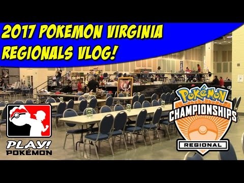 Pokemon Virginia Regional Championship 2017 Vlog | Pack Openings, Results, and More!