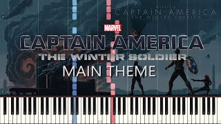 Captain America The Winter Soldier (Taking A Stand) - Main Theme | Piano Cover + SHEETS