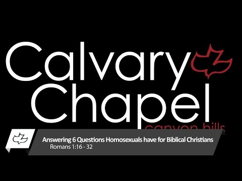 Christian answers to homosexuality in christianity