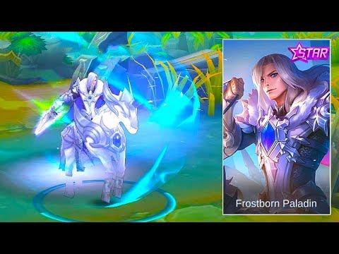 Leomord Starlight Skin   Frostborn Paladin   Mobile Legends : Bang Bang