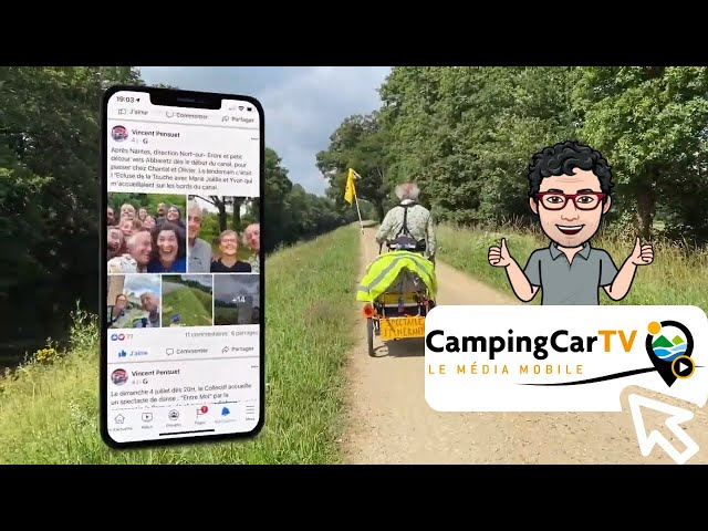 Je Tourisme en Camping-Car N°186 - Blain de rencontres, au fil de l'eau...