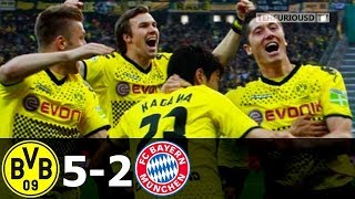 Borussia Dortmund vs Bayern Munich 5-2 Highlights (DFB-Pokal Final) 2012 HD 720p