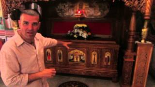 Tomb of Orthodox Priest that was Beheaded by Ustase