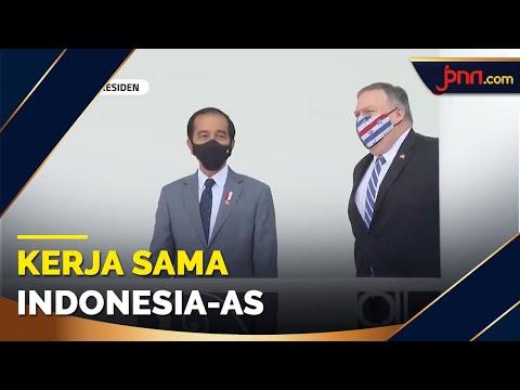 Bertemu Menlu AS, Jokowi Bahas Kerja Sama Pertahanan
