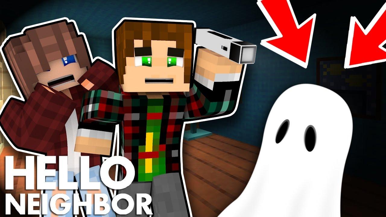 Minecraft Hello Neighbor - Is The Neighbors House Haunted ...