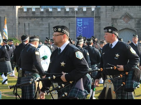 Bagpipes & Drums of the Emerald Society, Chicago Police Dept