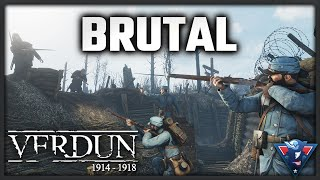 BRUTAL TRENCH COMBAT || Verdun Gameplay