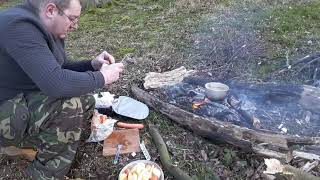 MY FIRST EVER SOLO WOODLAND CAMPING TRIP.