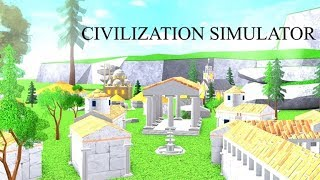 Altersimperium??? - Roblox Zivilisation Simulator