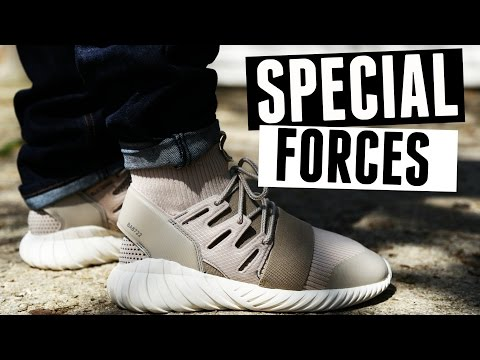 "Adidas Tubular Doom PK ""Special Forces"" w/ On Foot"