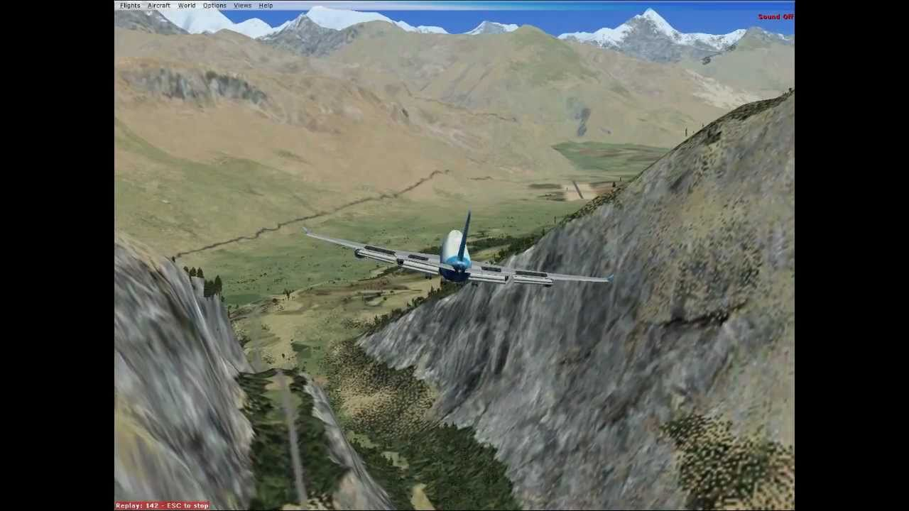 Tough Fsx Airport Runway Gilgit Pakistan Hd Youtube
