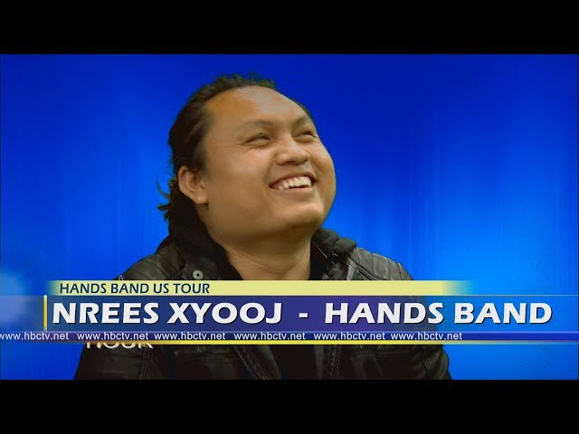 3 HMONG TV EHOUR: Chonburi Lee sits down with Nrees Xyooj, lead singer, for the Hands Band.