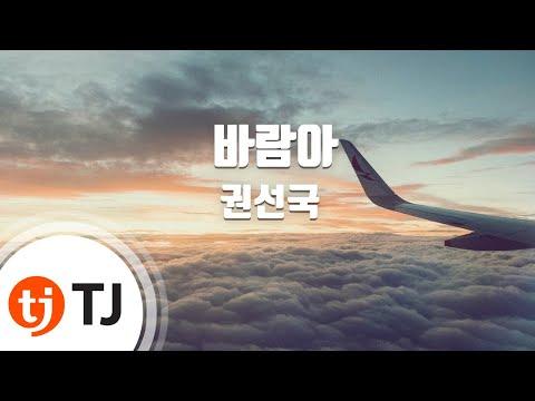 [TJ노래방] 바람아 - 권선국 (Wind - Kwon Sun Gook) / TJ Karaoke