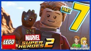 Lego Marvel Super Heroes 2 Walkthrough Part 7 Old West & High Noon Saloon!