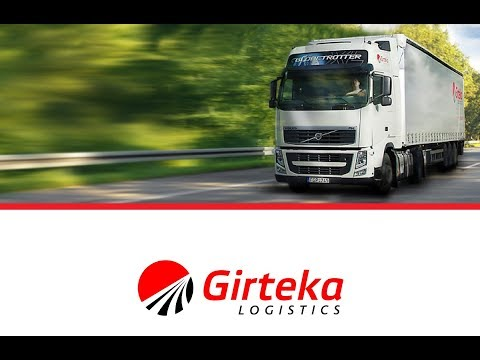 Girteka - стажировка / автопарк / работа по Европе