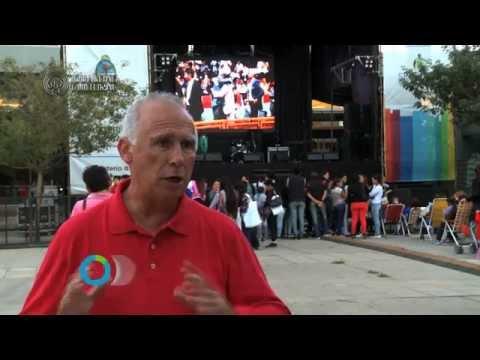 Igualdad Cultural TV junto a Carlos De Grandis / Pto Gral. San Martín, prov. Santa Fe