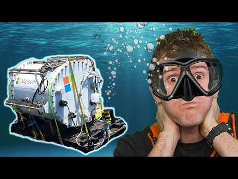 Microsoft is Putting Computers in the OCEAN