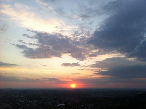 Львов, рассвет, Высокий замок \ Lviv, Ukraine, Sunrise