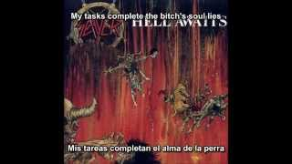 Slayer - Necrophiliac (Hell Awaits Album) (Subtitulos Español)