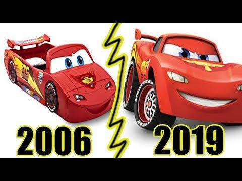 Evolution Of CARS Games (2006 - 2019)
