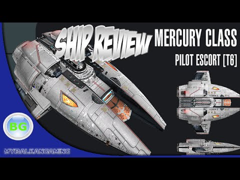 Star Trek Online: Mercury Pilot Escort Ship Review