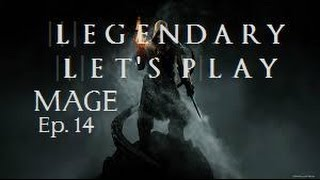 Skyrim Let's Play | Legeฑdary Difficulty Ep. 14- Killing Ancano