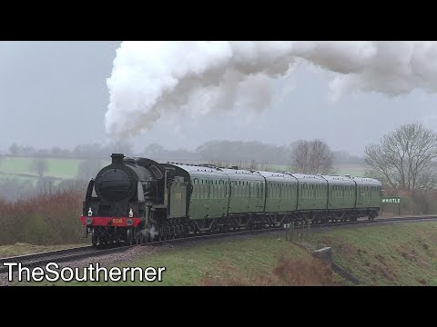 Watercress Line - 'Six Bulleid Carriages' 15/03/2020