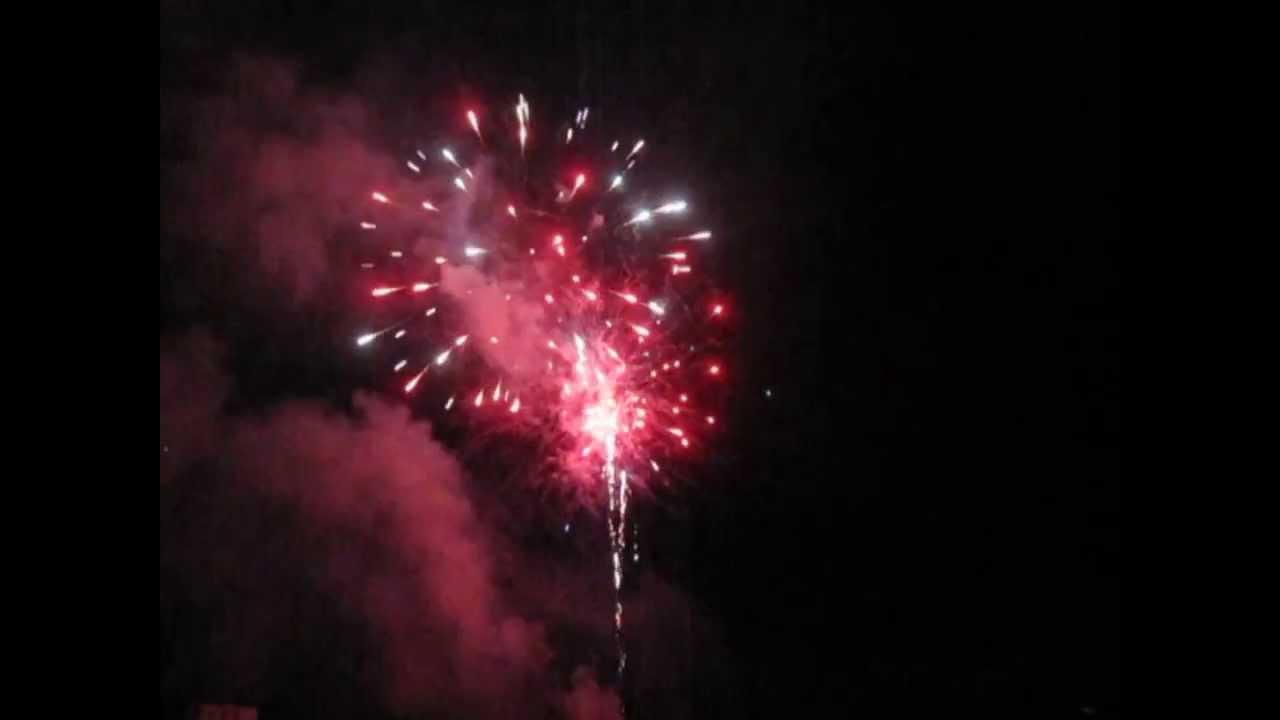 back yard fireworks new years 2014 youtube