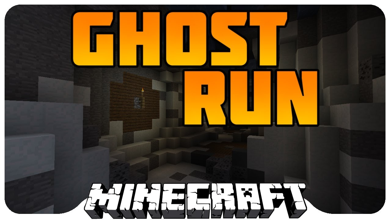 Minecraft Mini Game: GHOST RUN! - EPIC GAME!! - YouTube
