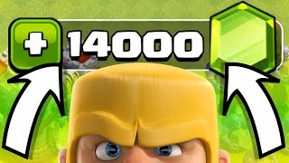 I GEMMED IT!! - Clash Of Clans - NEW TOWN HALL LEVEL!