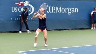 Urszula Radwanska - US Open 2013 - Slow motion video