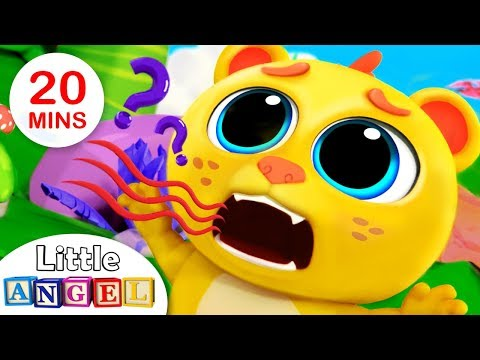 Baby Lion Lost His ROAR!   Baby King of the Jungle   Animal Songs For Kids