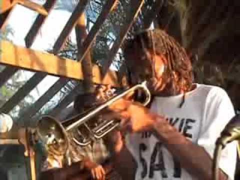 Frank Aird Hiyah Grade Band Peanut Vendor Sea Splash Resort Negril Jamaica 2013
