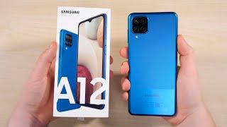 SAMSUNG GALAXY A12 - Лучший Бюджетный Смартфон 2021 ГОДА! Вы серьёзно? Просто АД после Xiaomi..