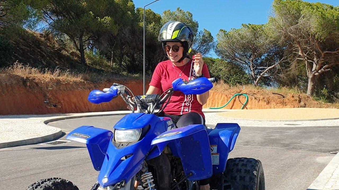 Ride Yamaha Blaster 200cc Stock Two Wheels @NetoBanshee Quad Vlog