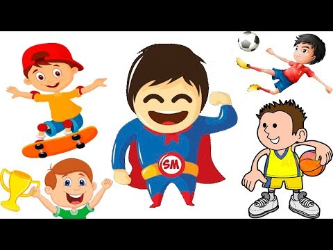 Bad baby Supermuns & Street workout funniest sport kids Johny Yes Papa Nursery Rhymes Learn colors