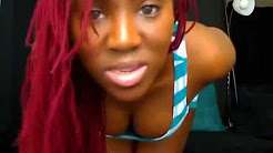 African girls twerking