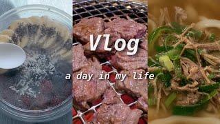 [Vlog] 종강하고 싶다.. 그래? 일단 먹어 | 대…