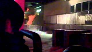 The ride at Disaster!- Universal Studios Orlando
