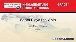 Santa Plays the Viola, arr. Mark Williams – Score & Sound