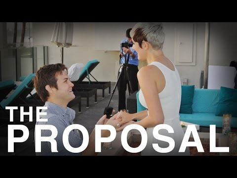 Cute and Funny Marriage Proposal - Brad & Addie from Halocene