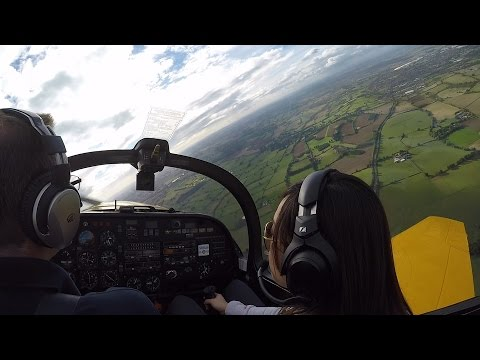 Slingsby Firefly fun flying trip from Turweston GoPro HD 48fps