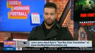Kyle Van Noy joins Good Morning Football Today
