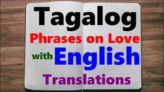 Tagalog 101 greetings level one clip learn tagalog part 15 useful phrases on love and relationship m4hsunfo Gallery