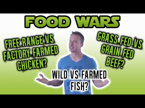 The Difference Between Free Range Vs Factory Farmed (CHICKEN, BEEF, AND FISH) | LiveLeanTV